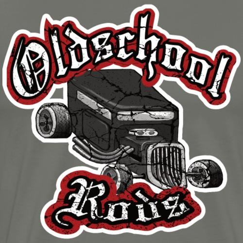 Oldschool Rods, Hot Rod Geschenkidee - Männer Premium T-Shirt