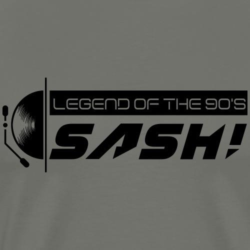 DJ SASH! Turntable 2020 Logo - Men's Premium T-Shirt
