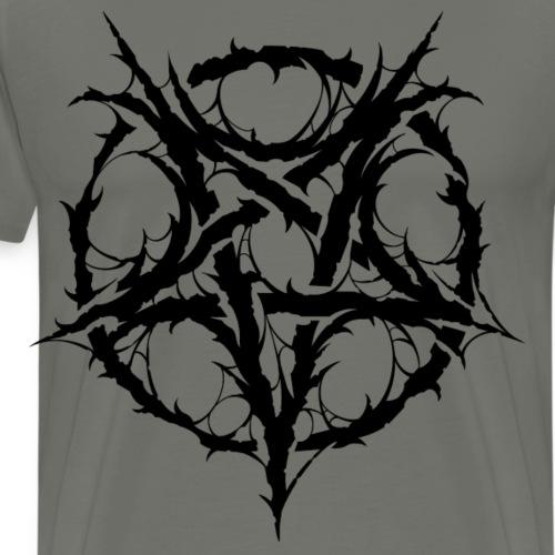 Black Metal Pentagram - Camiseta premium hombre