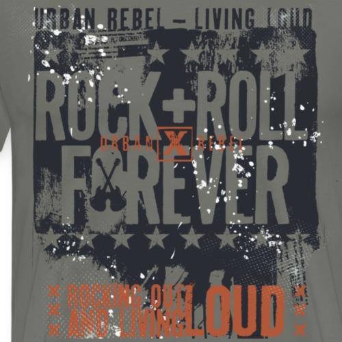 rock &roll - Camiseta premium hombre