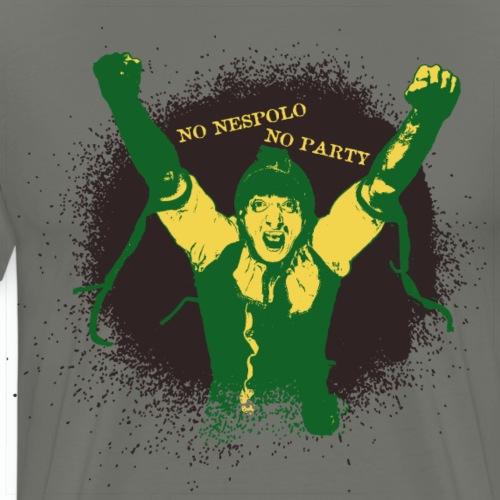 No Nespolo No Party - Maglietta Premium da uomo