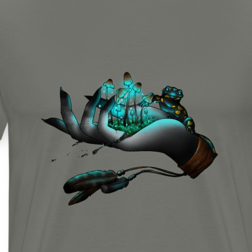 Psilocybe`s Vision - Männer Premium T-Shirt