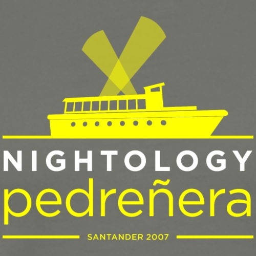 Nightology Pedreñera (colores oscuros) - Camiseta premium hombre