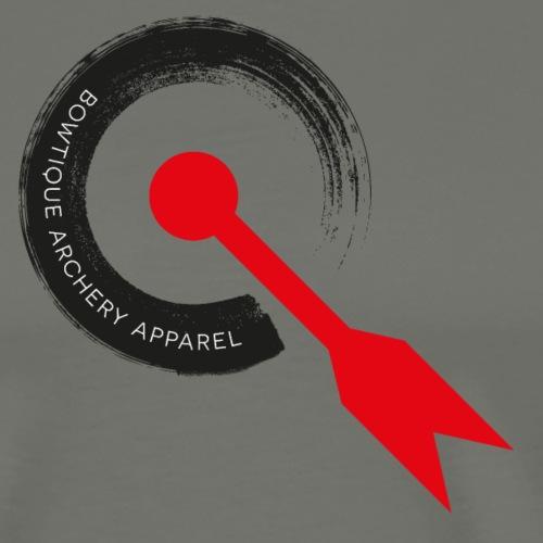 BOWTIQUE Archery Apparel Washed-Logo (by BOWTIQUE) - Männer Premium T-Shirt