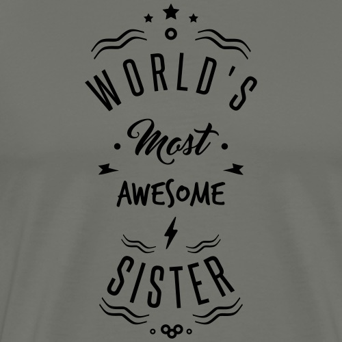 awesome sister - T-shirt Premium Homme