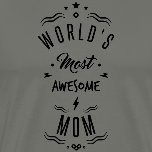 awesome mom - T-shirt Premium Homme