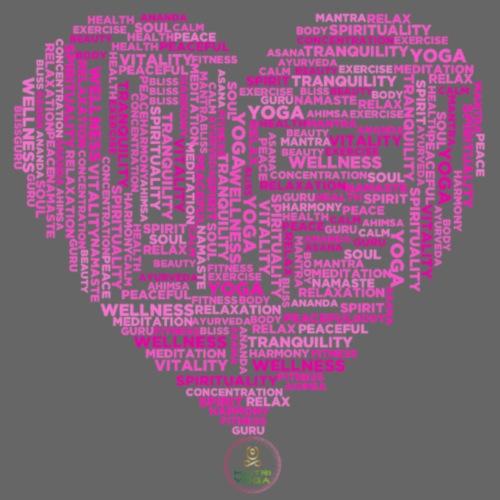 Coeur Good Vibes - T-shirt Premium Homme