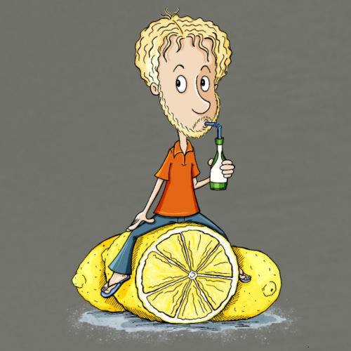 Gibt Dir das Leben Zitronen... - Männer Premium T-Shirt