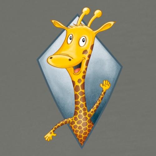 crazy Giraffe - Männer Premium T-Shirt