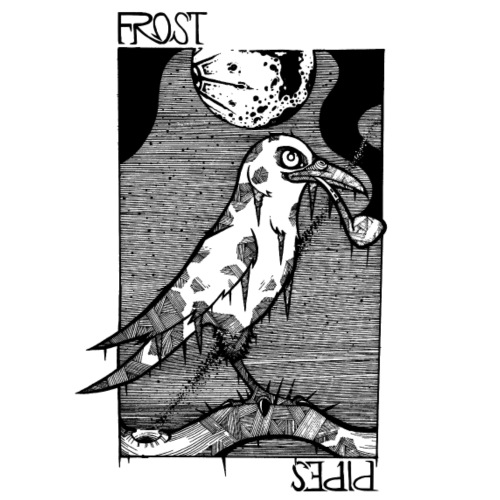 Frost Crow - Men's Premium T-Shirt