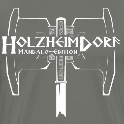 HolzheimDorf - Mandalo-Edition Zwerge - Männer Premium T-Shirt