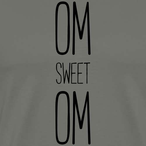 Om_sweet_Om - Männer Premium T-Shirt