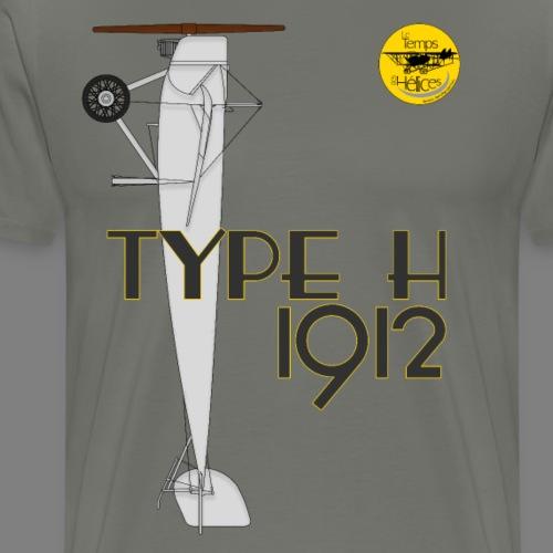 TDH19-PROFIL-MORANE GRIS - T-shirt Premium Homme