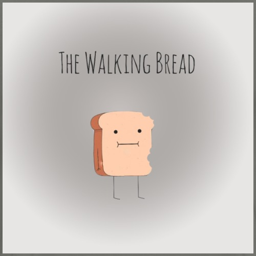 The walking Bread - T-shirt Premium Homme
