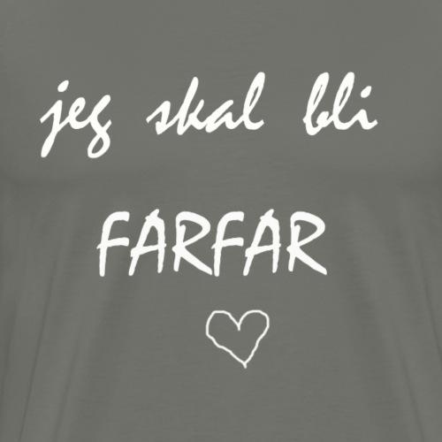 Farfar Collection - Premium T-skjorte for menn
