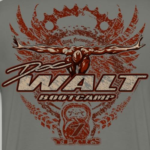 DOCWALT 2FOCUS (bitte max. 40°/verkehrt waschen) - Männer Premium T-Shirt