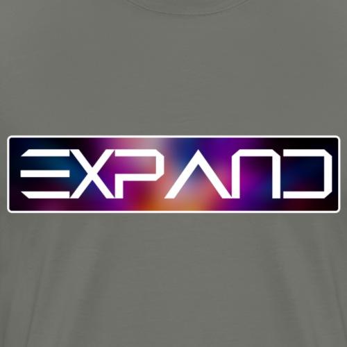 expandlogored - Mannen Premium T-shirt