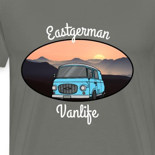 vanlife eastgerman - Männer Premium T-Shirt