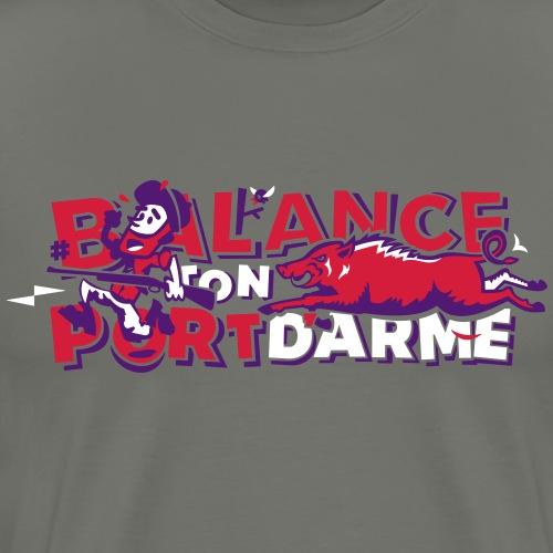 Balance ton port d'arme - T-shirt Premium Homme