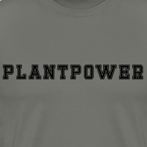 Plant Power Vegan Vegetarisch cool Geschenkidee
