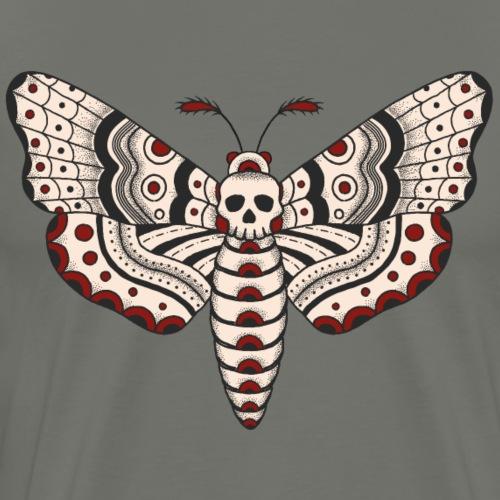 Death Head Moth - Männer Premium T-Shirt