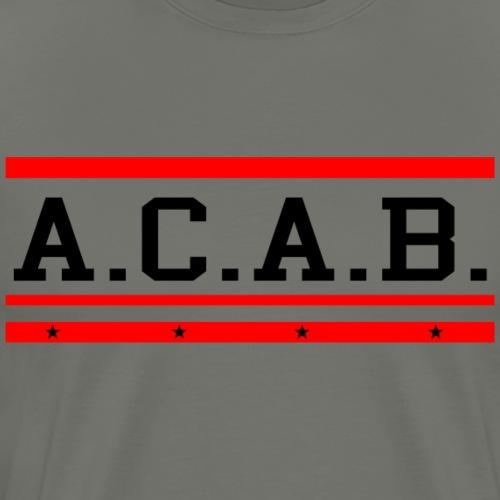 ACAB A.C.A.B. - Männer Premium T-Shirt