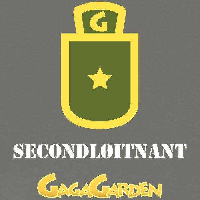 GagaGarden secondløitnant