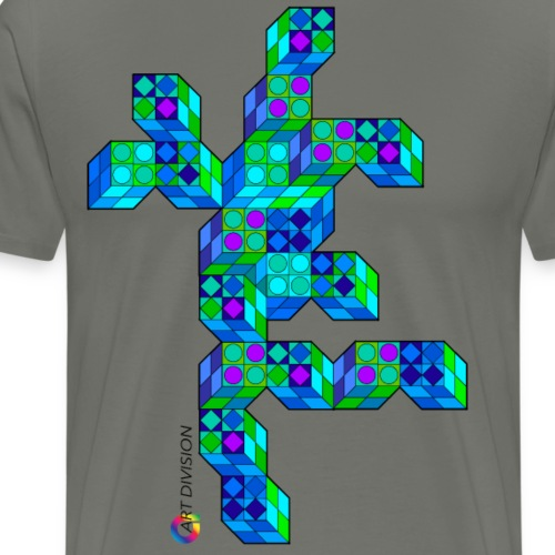 Figure cubes - Men's Premium T-Shirt
