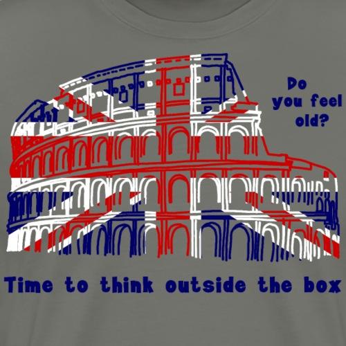 Alter ist relativ auf englisch - Männer Premium T-Shirt
