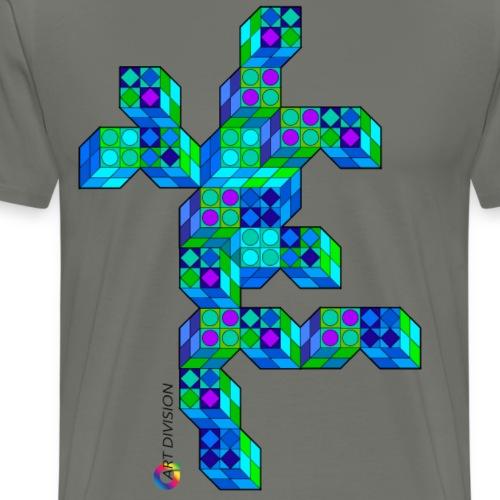 Figure cubes - Men's Premium T-Shirt