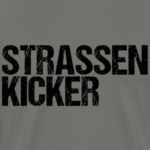 strassenkickerv02 - Männer Premium T-Shirt
