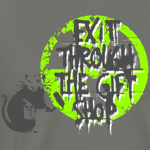exit - Männer Premium T-Shirt