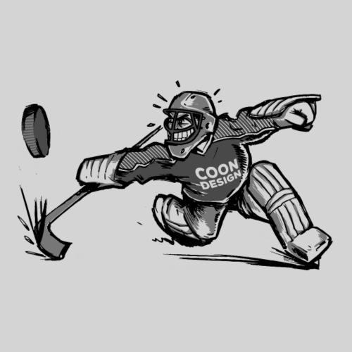 CoonDesign - Goalie II - Männer Premium T-Shirt
