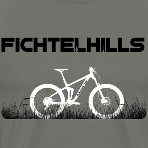 Fahrrad im Fichtelgebirge - Männer Premium T-Shirt