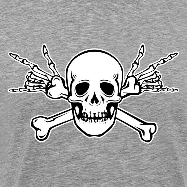 Skull with ILY