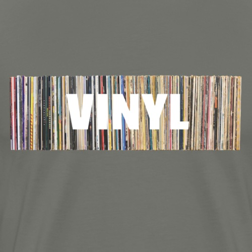 T-Record - Vinyl 'Alles op een rij' - Mannen Premium T-shirt