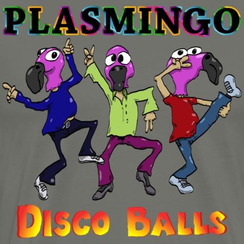 Plasmingo - Disco Balls - Dance Dudes - Premium-T-shirt herr