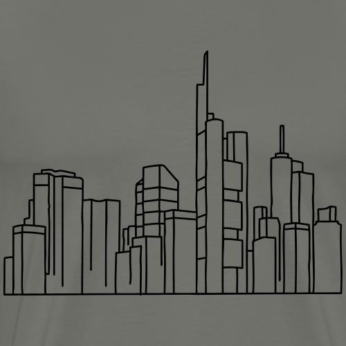 Città di Francoforte - Maglietta Premium da uomo