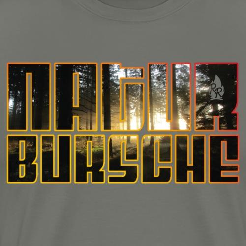 Naturebursche Wood - Männer Premium T-Shirt