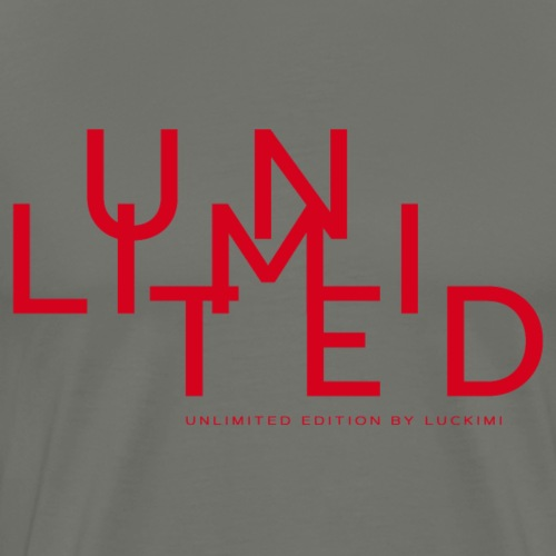 Unlimited red - Men's Premium T-Shirt