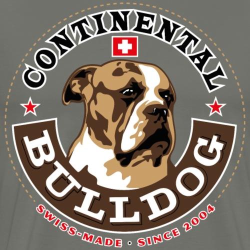 Continental Bulldog - Männer Premium T-Shirt