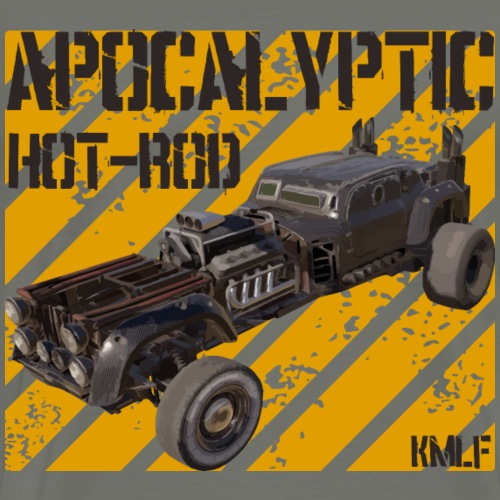 Apocalypyic Hot-Rod v2 - T-shirt Premium Homme