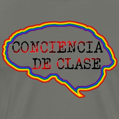 Cerebro Conciencia de clase - Camiseta premium hombre
