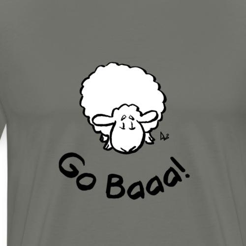 Sauer går Baaa! - Premium T-skjorte for menn