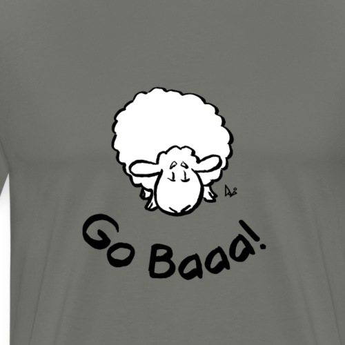 Sheep Go Baaa! - Men's Premium T-Shirt