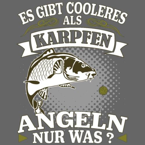 Es gibt cooleres als Karpfen Angeln nur was ? - Männer Premium T-Shirt