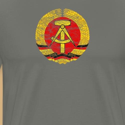 DDR Emblem used Lock - geboren in der DDR