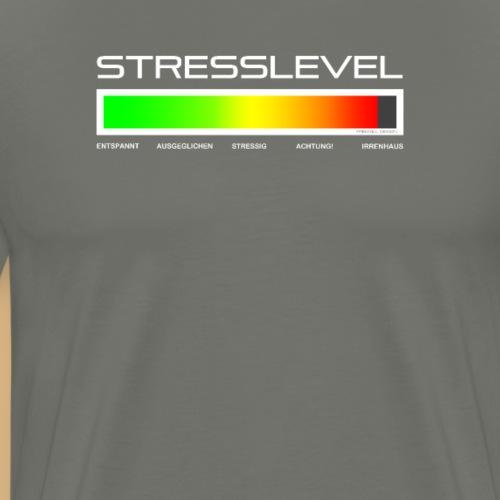 Gestresst Stresslevel für Arbeit und Kollegen fun - Männer Premium T-Shirt