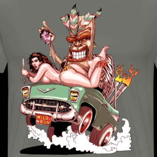 Tiki kar - T-shirt Premium Homme