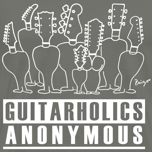 Guitarholics Anonymous - Männer Premium T-Shirt